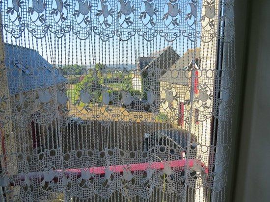 locations de vacances Gites de Kergoat : Vista desde nuestra habitación