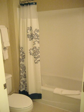 Residence Inn Mystic Groton: Shower/Toilet