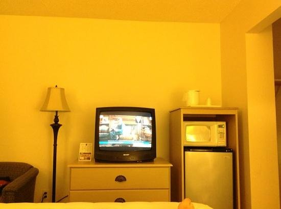 Quality Inn: 'Modern' TV Room 217