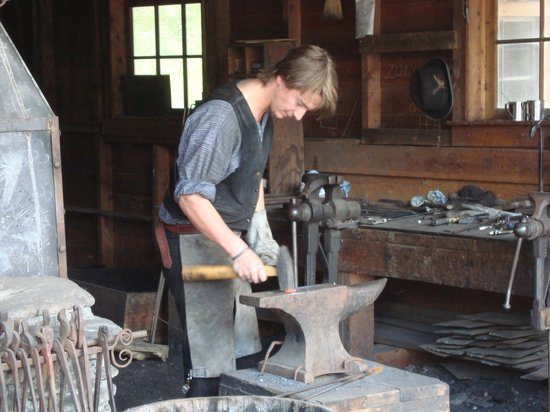 Barkerville Historic Town: Blacksmith