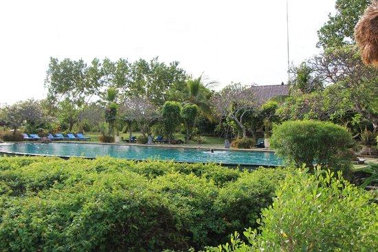Naya Gawana Resort & Spa: Vue de bateau