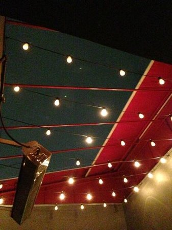 Osteria La Buca : A view from our upstairs table