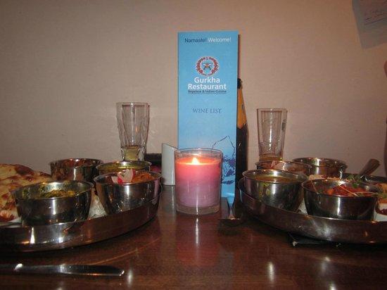 Gurkha Restaurant: Thali
