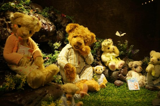 Bearga Museum : Artist teddy bears