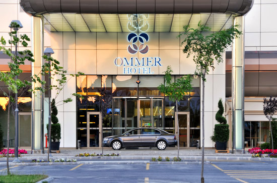 Ommer Hotel: front of the hotel