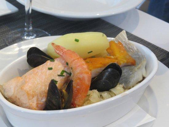Brasserie L'Ostrea : Filet de lieu
