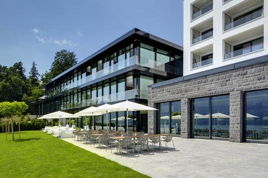 Campus Hotel Hertenstein: Hotel vom See