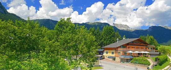 Der Seebacherhof: Seebacherhof im Sommer