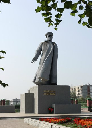 Marshal Konev Monument