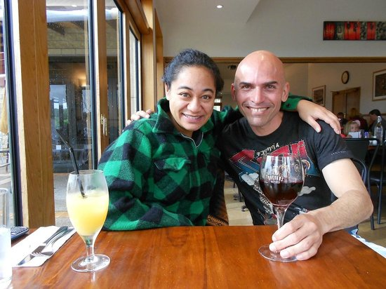 Soljans Cafe: Me & my Friend Ina