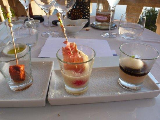 Béns d'Avall Restaurant: Amuse Bouche