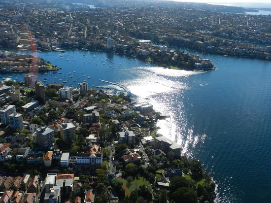 Bondi Helicopters: Our views on the 20 minutes helicopter flight