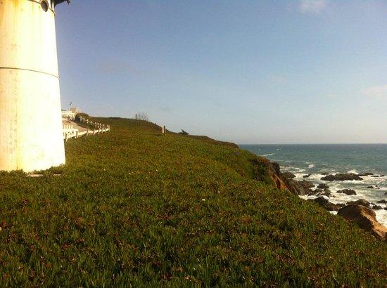 HI-Point Montara Lighthouse: the lighthouse (no, you don't sleep inside)