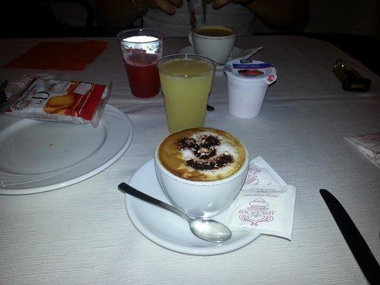 cappuccino del Hotel Antica fonte Brescia