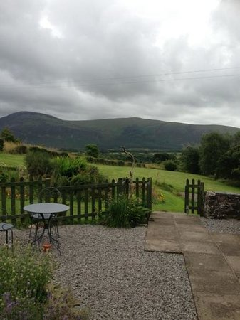 Ghyll Farm B & B: the view from our room