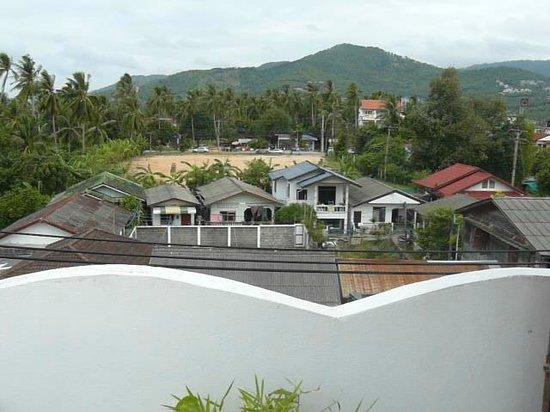 L' Hacienda : vue de la piscine