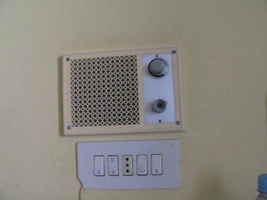 Hotel San Telmo: radio die op geen enkele kamer werkte