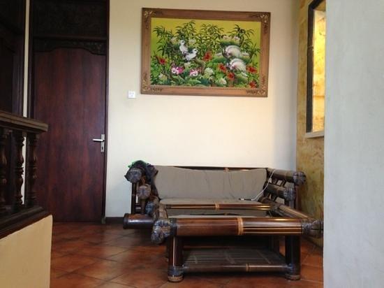 Bali Segara Hotel : overloop 1e verdieping familyroom