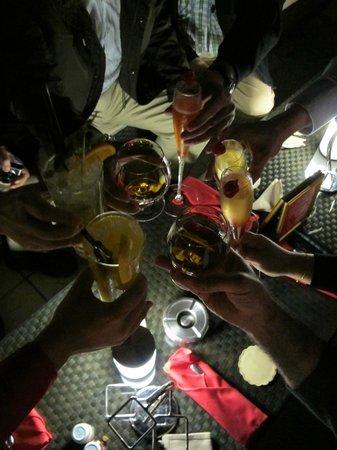 Uptown Bar: Bottoms up