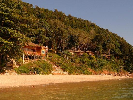 Koh Jum Resort: beach