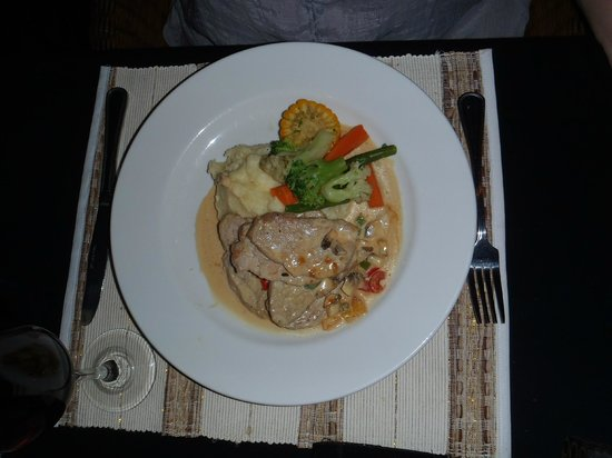 Mona Lisa Cafe : Pork medallions