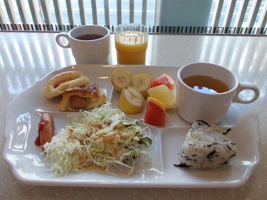 ヴィアイン東銀座, 朝食