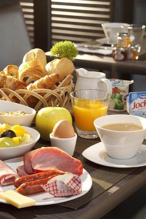 Hôtel Escale Oceania Brest : Buffet Petit Déjeuner