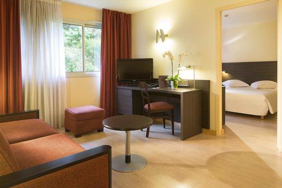 Hôtel Escale Oceania Brest : Suite 2 pièces