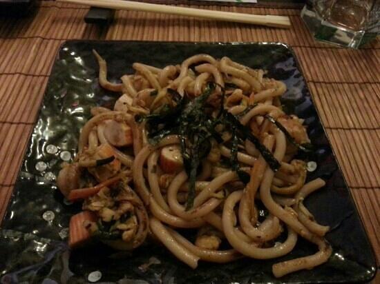 Asahi: yaki udon