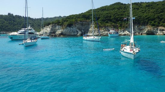 Hotel Avra: Day trip to Paxos-antipaxos