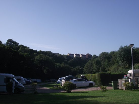 Hele Valley Holiday Park: our daily view.....