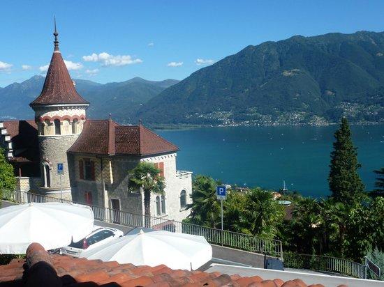 Hotel Mirafiori: Vom Balkon aus