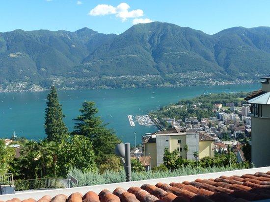 Hotel Mirafiori: Vom Balkon aus mit Blick auf den Lago Maggiore