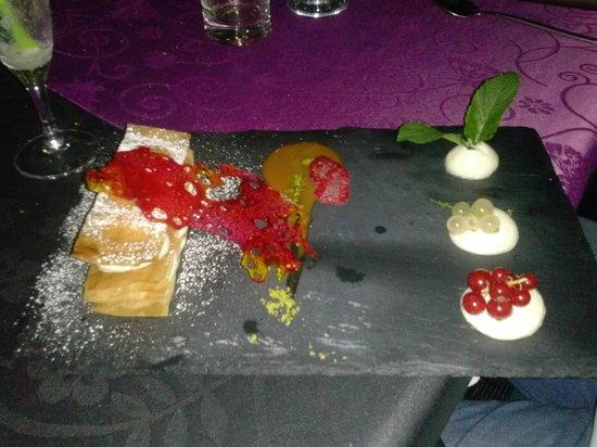La Romana: dessert mille feuilles