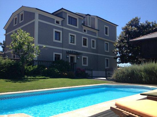 Hotel Rural Casa de Castro: Fachada interior.