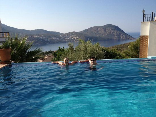 Villa Pisces : The pool and view