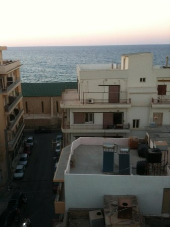 Atrion Hotel: Sea view from balcony
