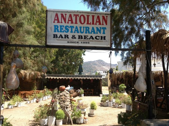 Anatolian Restaurant: well worth a visit
