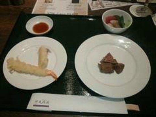 Tenseien : 夕食
