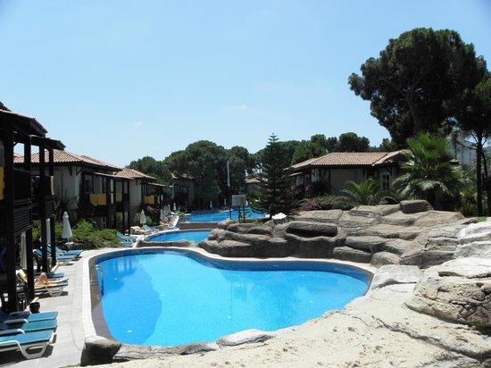 Papillon Ayscha Hotel: Villas pool