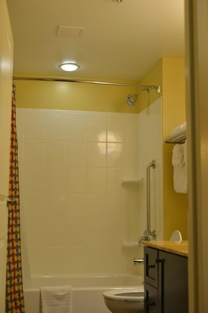 TownePlace Suites Farmington: Bathroom