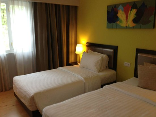 The Brunei Hotel: Twin Room