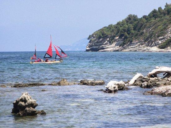 Camping D'Olzo : Spiaggia D'Olzo