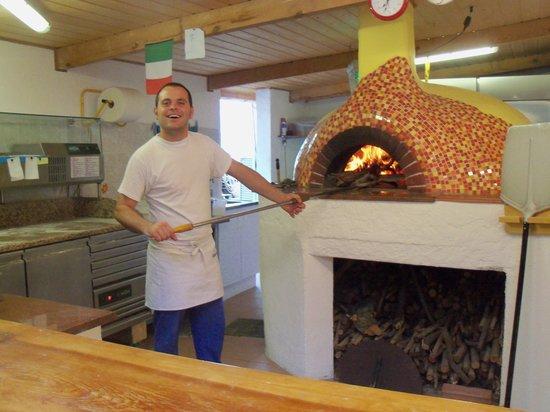 Camping D'Olzo : Pietro il pizzaiolo