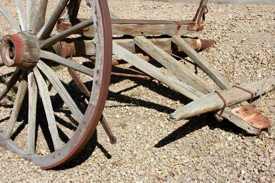 Yuma Quartermaster Depot State Historic Park: Wagon