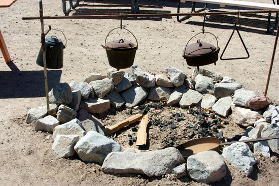 Yuma Quartermaster Depot State Historic Park: Campfire