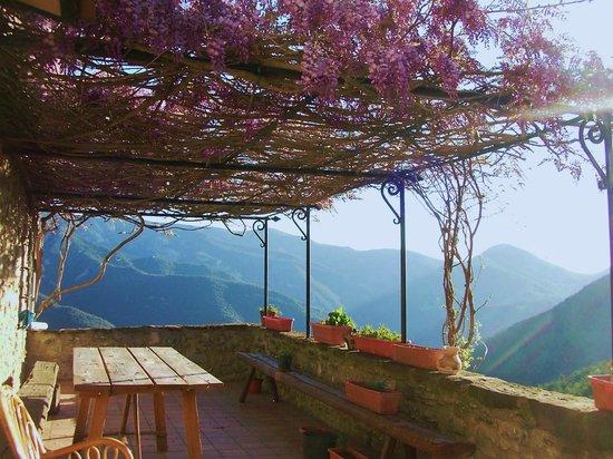 Can Coll de Pincaró: La Terraza