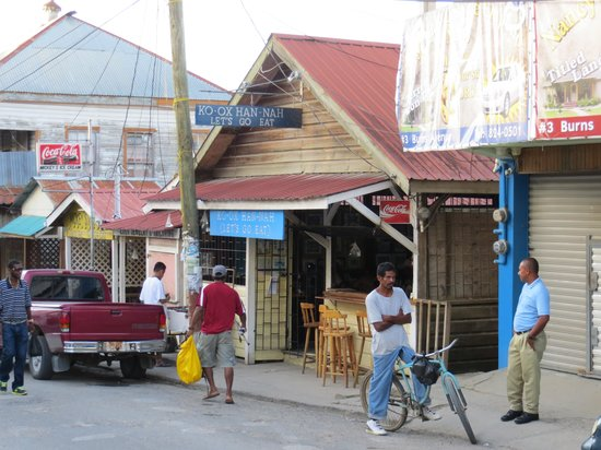 Ko-Ox Han nah: The front of the restaurant