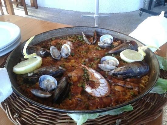 Cala Mandia Restaurant : paella mista