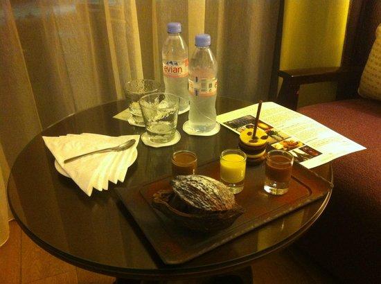Sofitel Malabo Sipopo Le Golf: wonderful VIP treat with chocolate delights